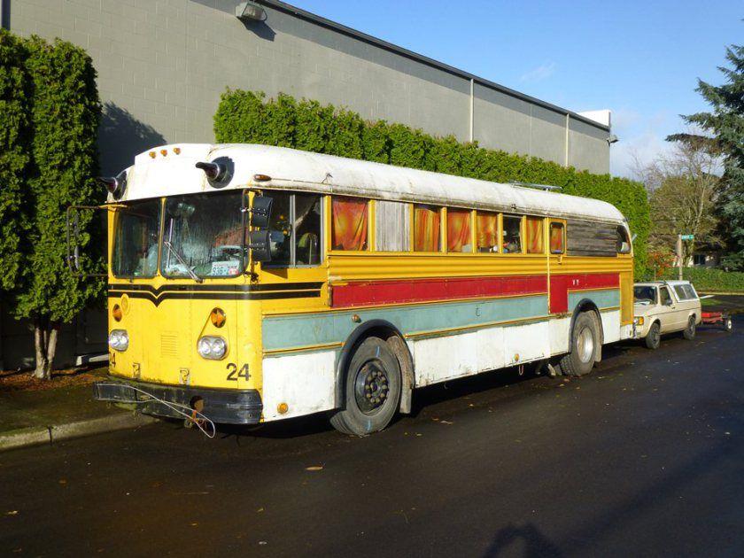 1957 Gillig Transit Coach School Bus