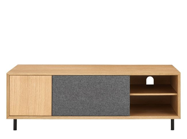 Luther Large Tv Stand Oak Lowboard Eiche Lowboard Eiche