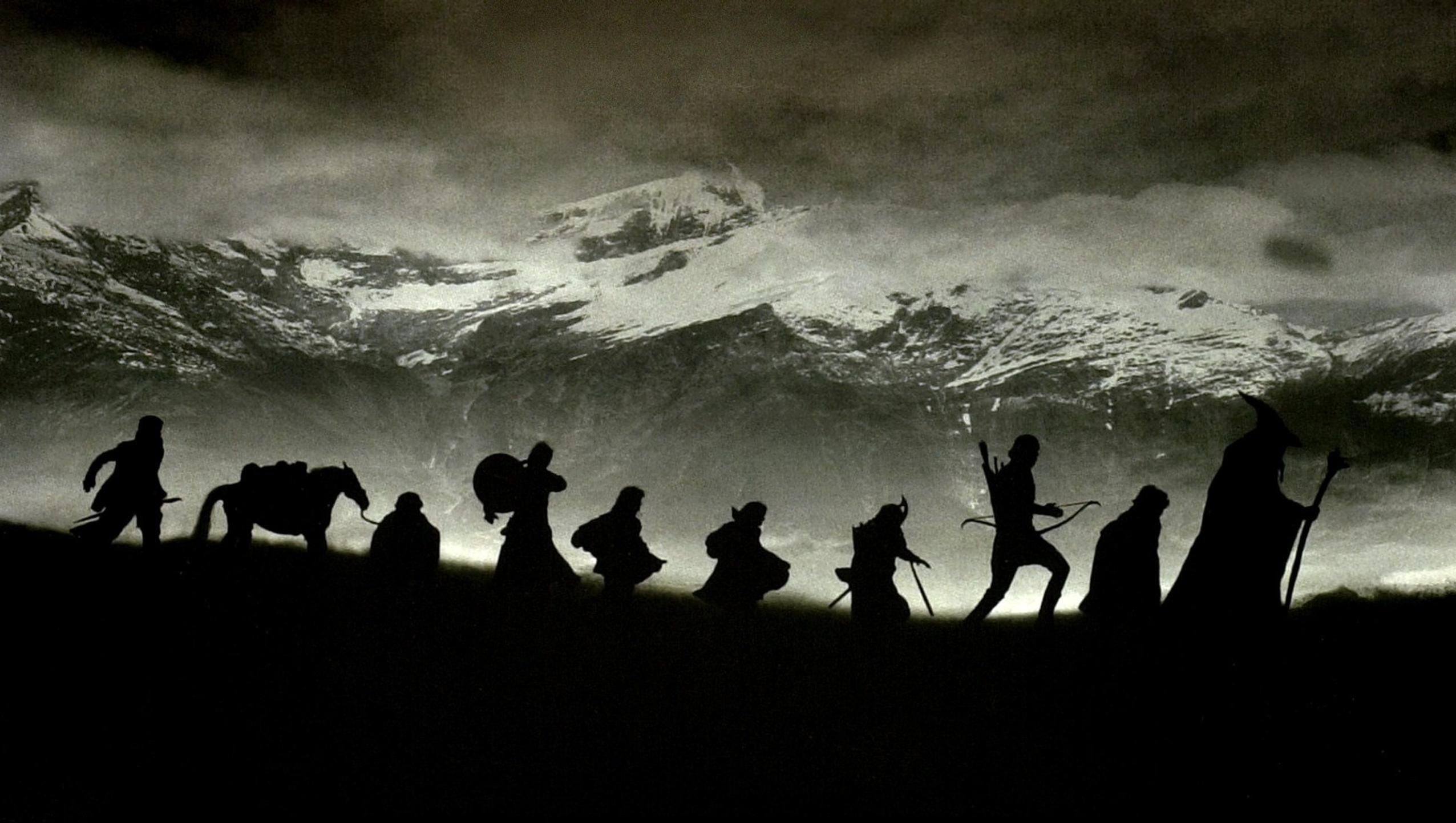 The Lord Of The Rings The Fellowship Of The Ring 2001 Desktop