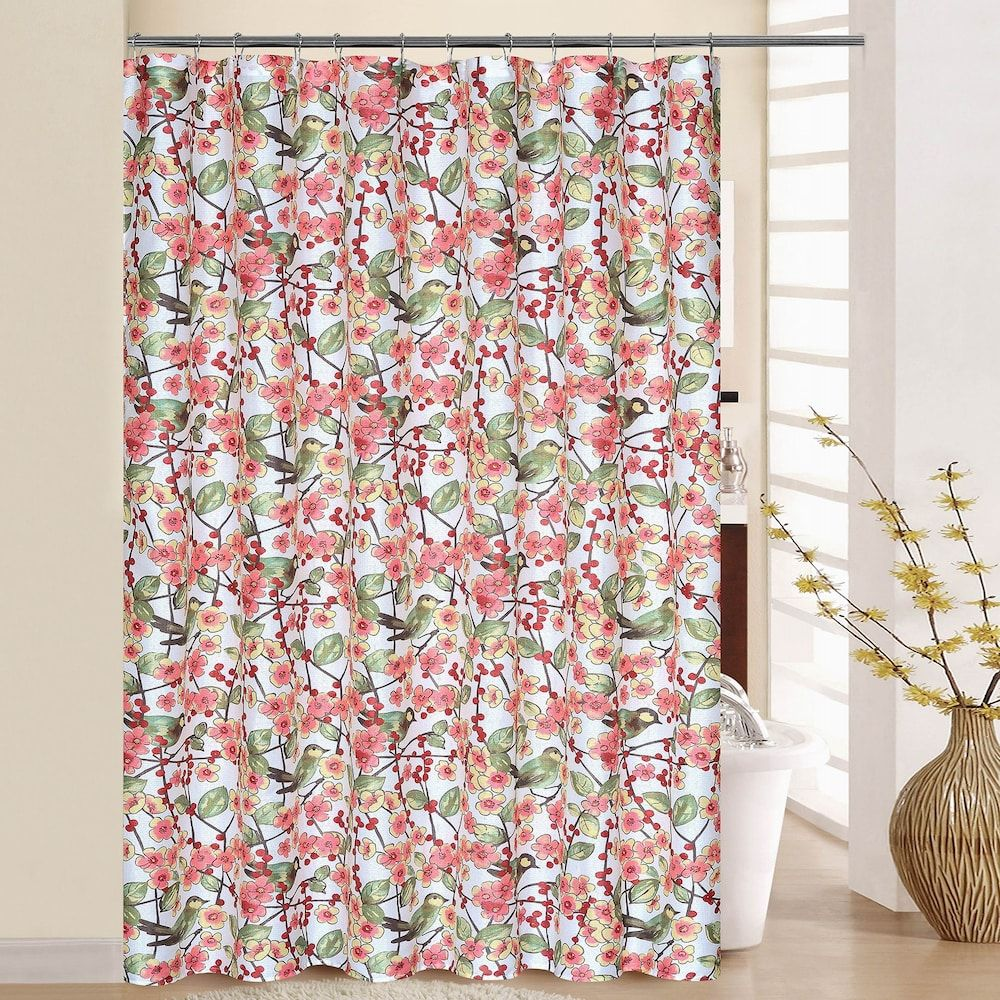 Waverly In The Air Shower Curtain Rings Blossom Curtains With
