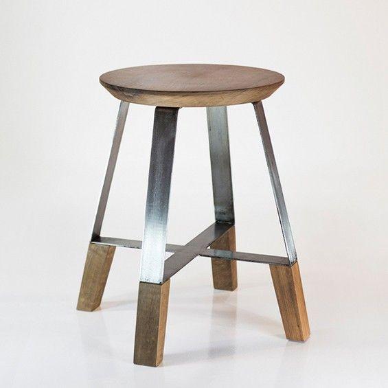 Dennys Tormen : A4 Stool | Stools, Wood Stool And Wood Design