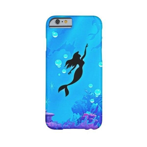 Zazzle Mermaid mermaid Barely There Iphone 6 Case ($45) ❤ liked on Polyvore featuring accessories and tech accessories