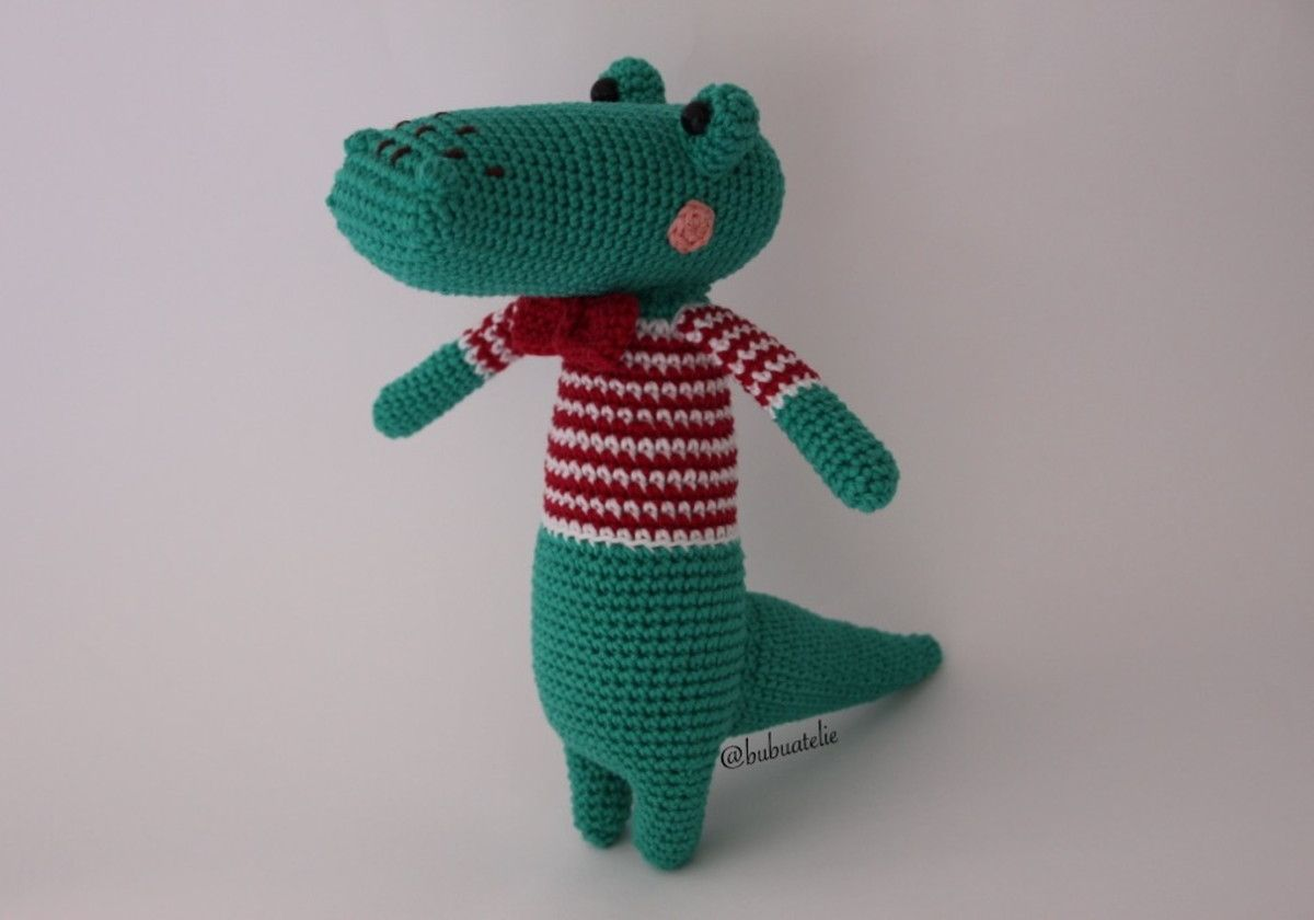 Jacaré amigurumi em crochê -jacaré jack em 2020   Bichinhos de ...   840x1200