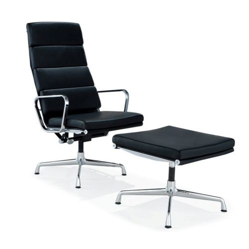 office lounge chair and ottoman student desk combo the charles eames style soft pad ea 222 223 is a high quality reproduction by interior addict of this amazing classic