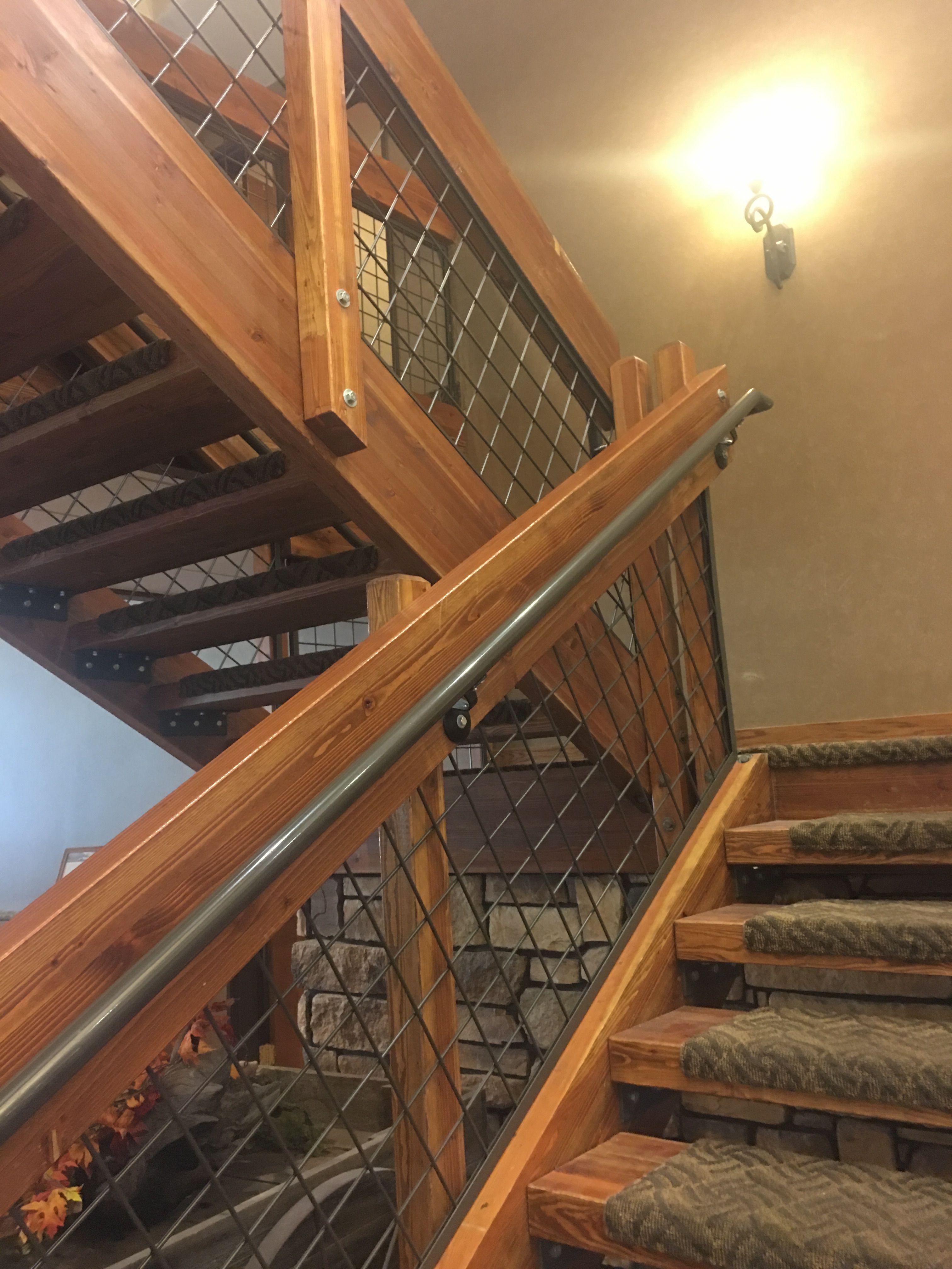 Best Stairway Railing Barndominium Home Ideas In 2019 400 x 300