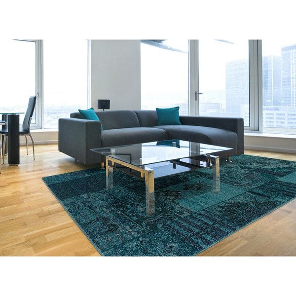 Large Teal/ Area Rug Featuring Polyvore, Home, Rugs, Teal Area Rug, Teal  Rugs, Teal Blue Rug And Teal Blue Area Rug | Polyvore | Pinterest | Teal Area  Rug, ...