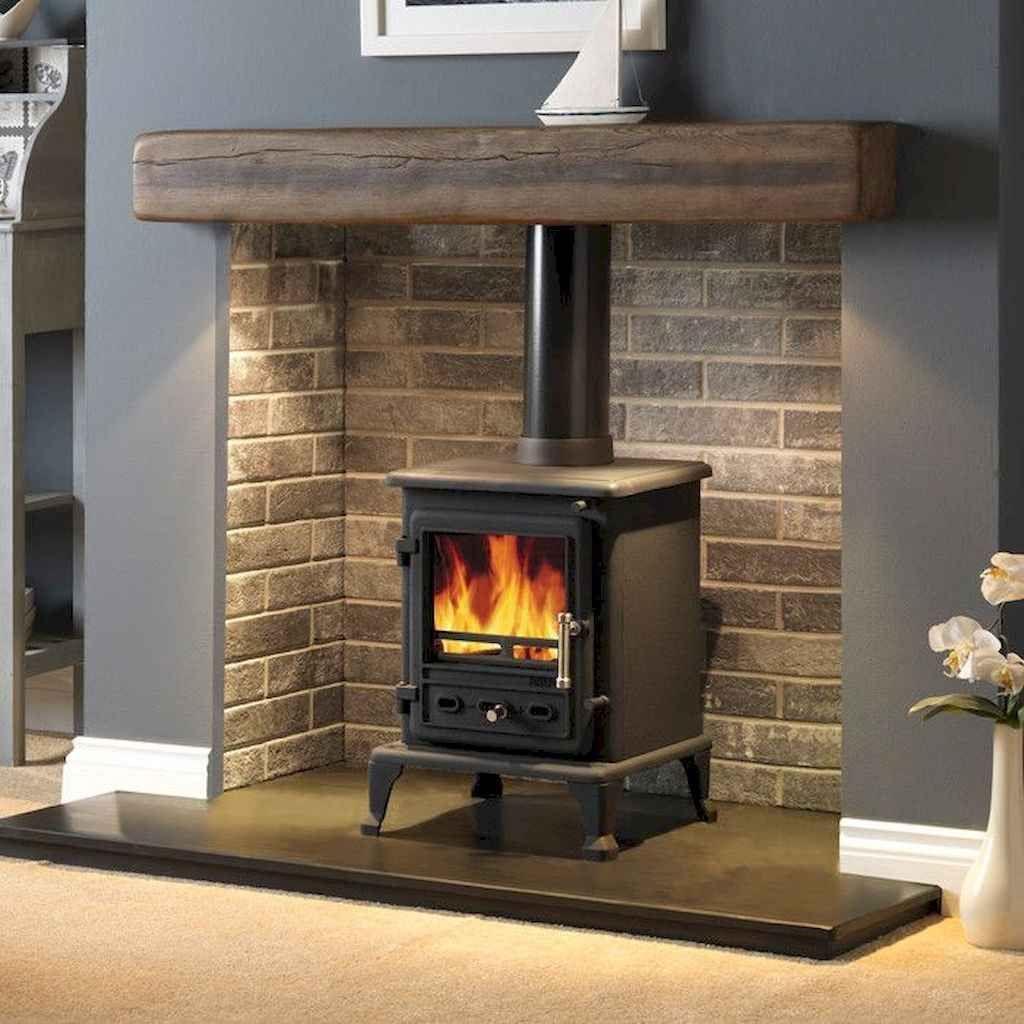 80 Small Fireplace Makeover Decor Ideas Structhome Com Log Burner Living Room Wood Burning Stoves Living Room Stove Fireplace