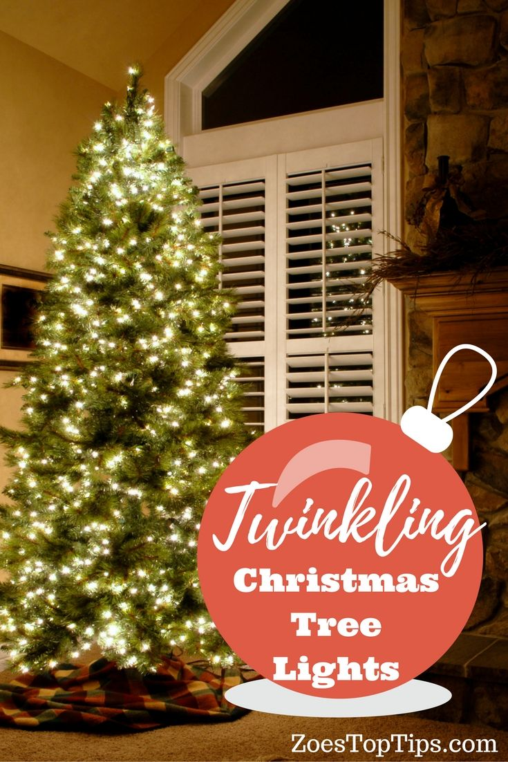 Twinkling Christmas Tree Lights | Pinterest | Christmas tree and Lights