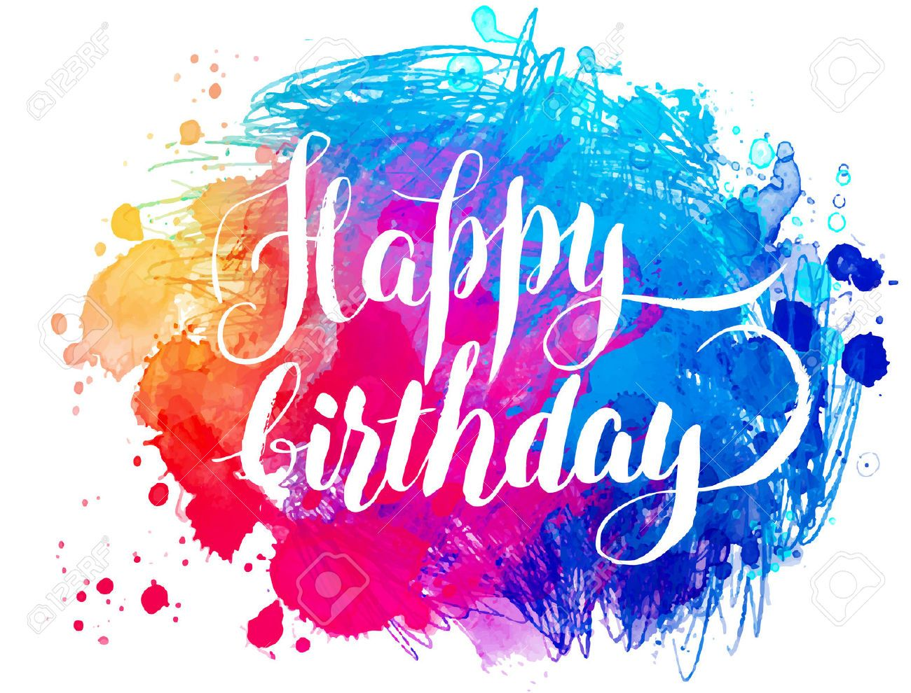 Stock Vector With Images Happy Birthday Art Birthday Images