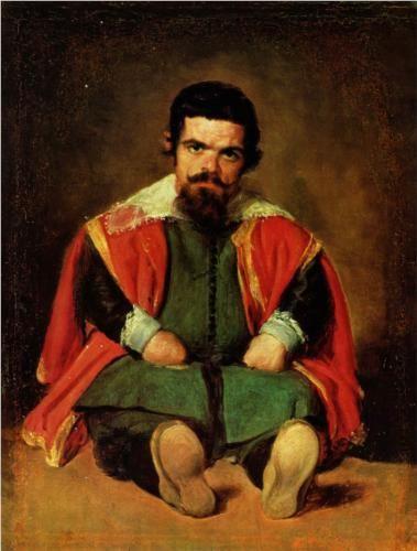 Portrait of Don Sebastian de Morra | Diego Velazquez, c. 1645
