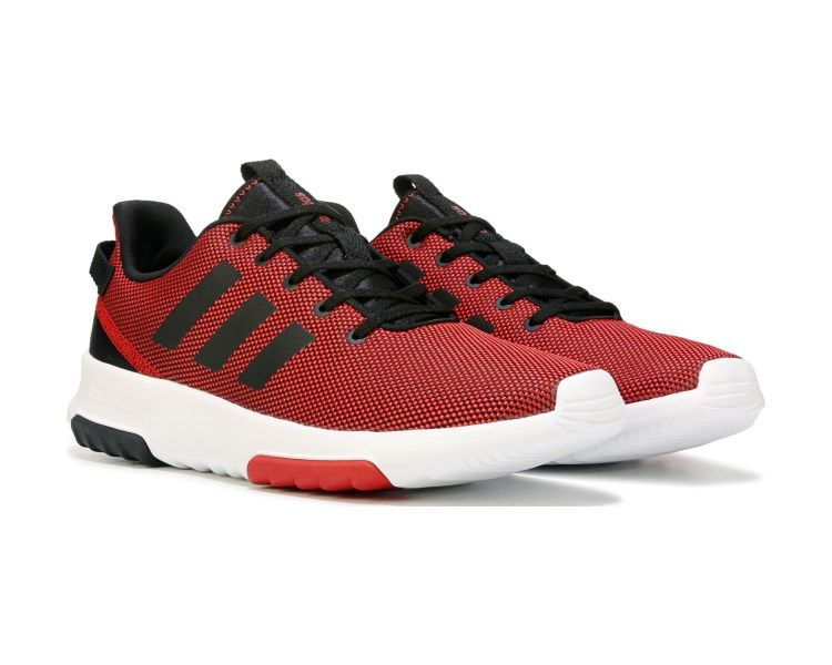 1665ae0a Streamline your casual look with the NEO Cloudfoam Racer TR Sneaker from  Adidas.Mesh upper in a sneaker style with a round toeLace up entry for a  secure ...