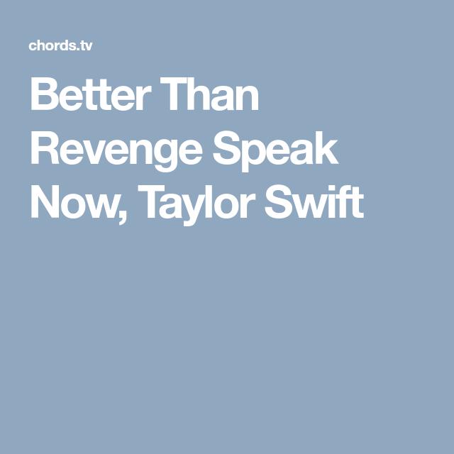 Better Than Revenge Speak Now Taylor Swift Ukulele Stuff