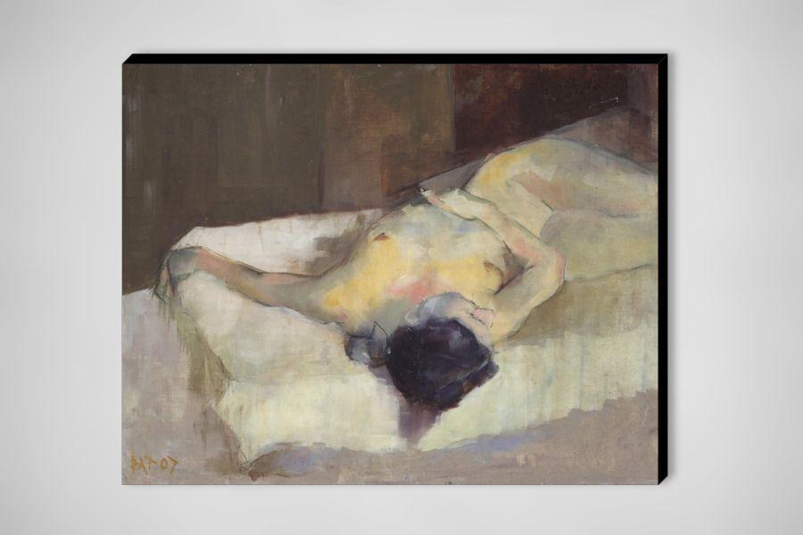 "Saatchi Online Artist: Patrick Palmer; Oil, 2007, Painting ""Reclining Nude"""