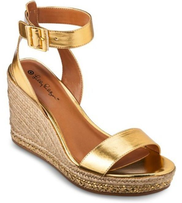 d7b6486b014b Lilly Pulitzer for Target Women s Wedge Espadrille Sandal Sz 6.5 Ships Now  FreE  LillyPulitzer  PlatformsWedges