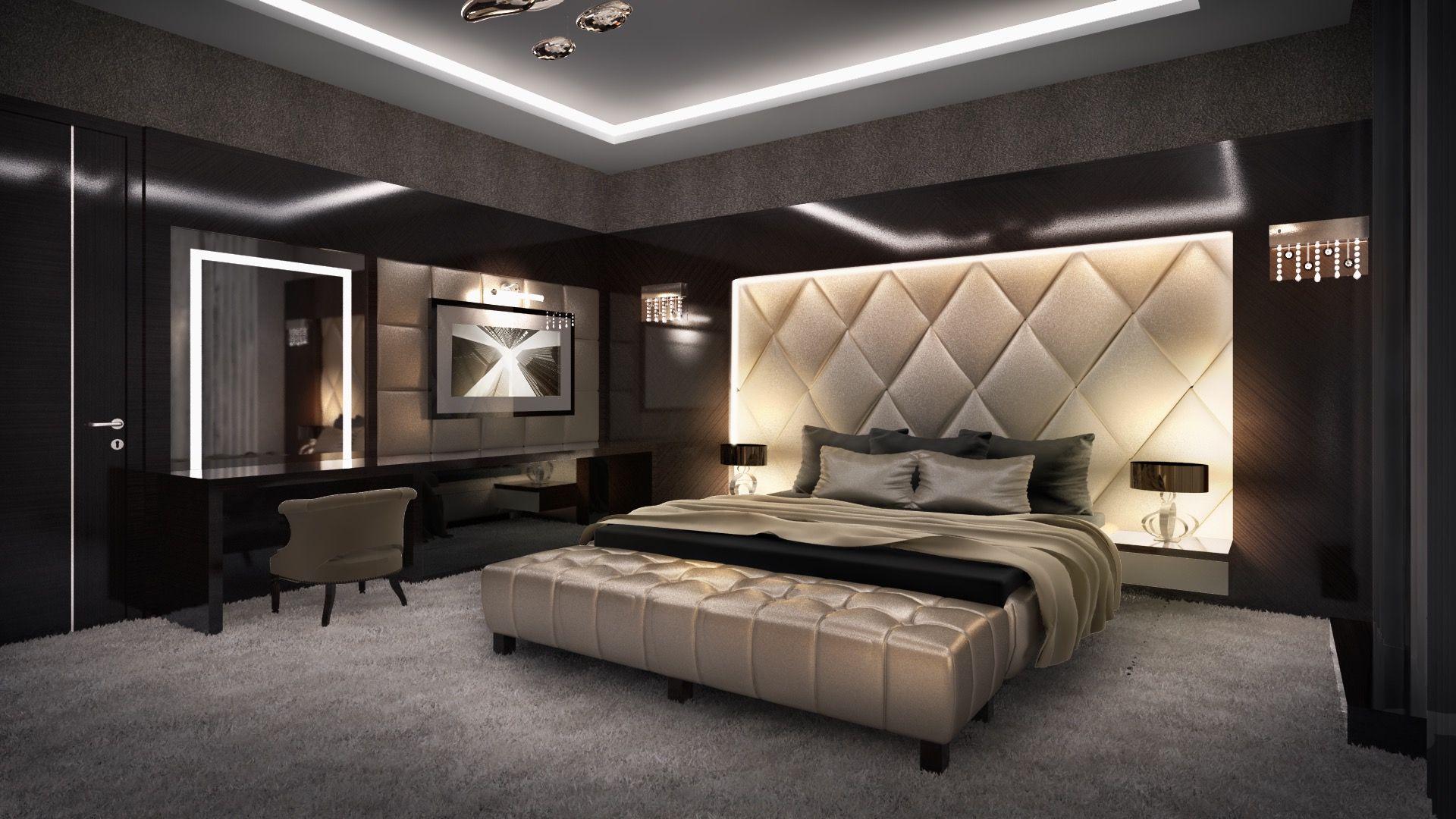 SZAKADÉK UTCA - MODERN LUXUS BELSŐÉPÍTÉSZET | Luxury bedroom ...