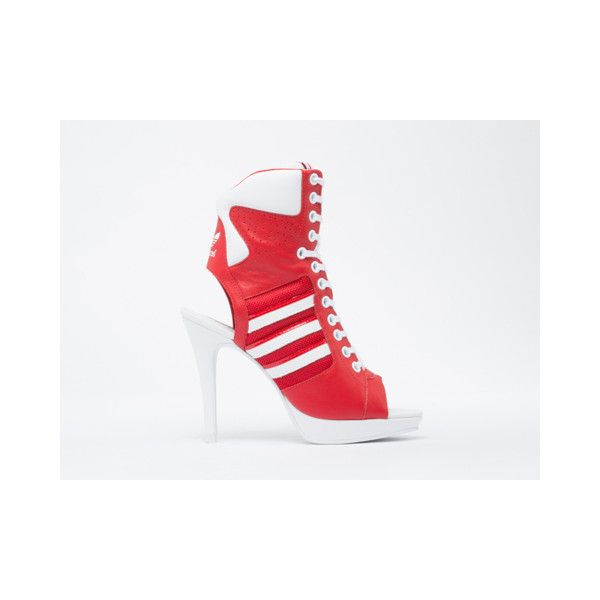 new styles 35994 3669a Adidas Originals X Jeremy Scott High Heel ( 200) found on Polyvore
