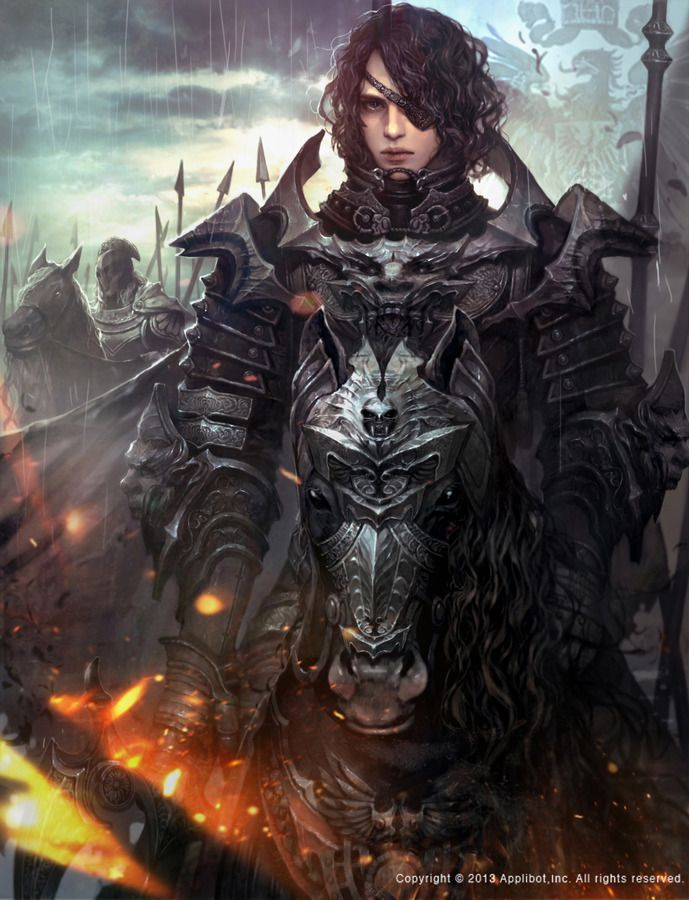 Fantasy Art Mercenary