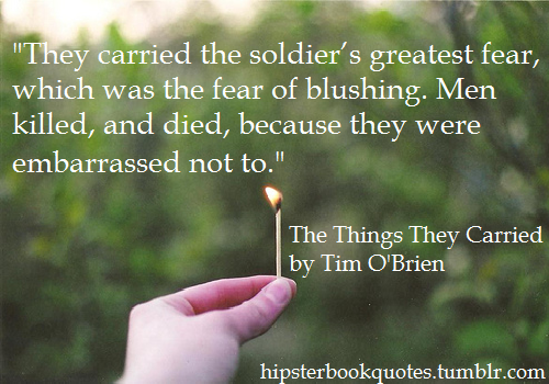 the things they carried truth essay Free essay: in tim o'brien's novel, the things they carried, imaginations can be both beneficial and corrosive this novel consist of story truth and this novel consist of story truth and real truth throughout the novel, imagination plays a big role tim o'brien wrote his book about the war mainly.