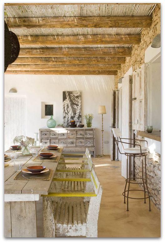 a gorgeous house at Formentera Spain IBIZA Pinterest Tronc - Idee Deco Maison De Campagne
