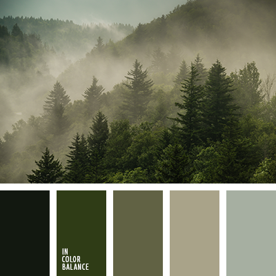 цвет пыльный зеленый