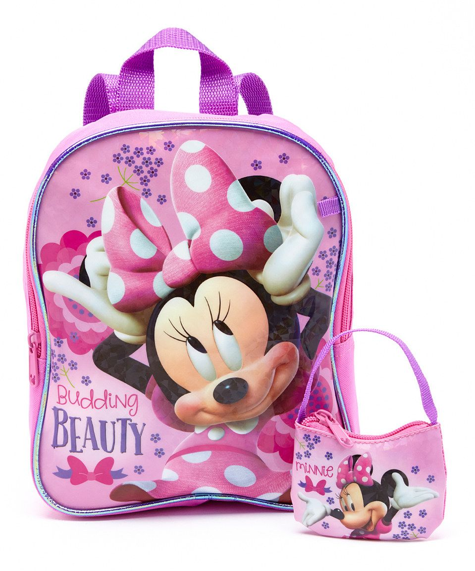 0d35119ae6516 Minnie Mouse Backpack Set- Fenix Toulouse Handball