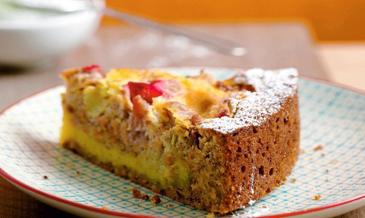 Ruebli Rhabarber Kuchen Rezept In 2018 Backen Suss Pinterest