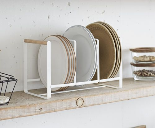 Triple vertical plate rack - Scandi inspired & Triple vertical plate rack - Scandi inspired | Productivity and ...