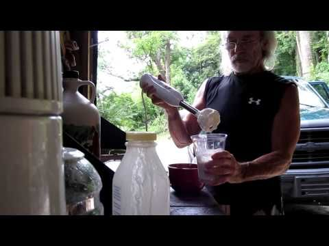 ▶ Making whipped cream the easy way with a hand mixer - YouTube He utilizes Homestead Creamery!