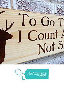Antlers Decor To Go Sleep I Count Not Sheep Sign Deer Baby Boy Nursery