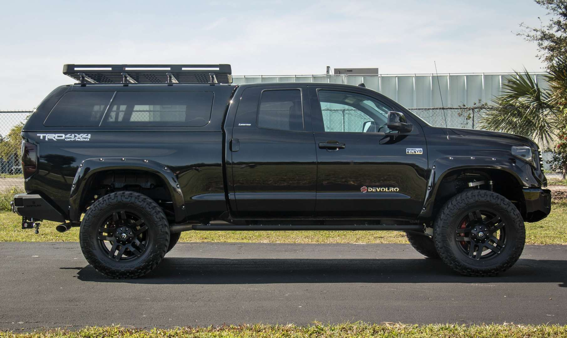 A military grade hunting truck