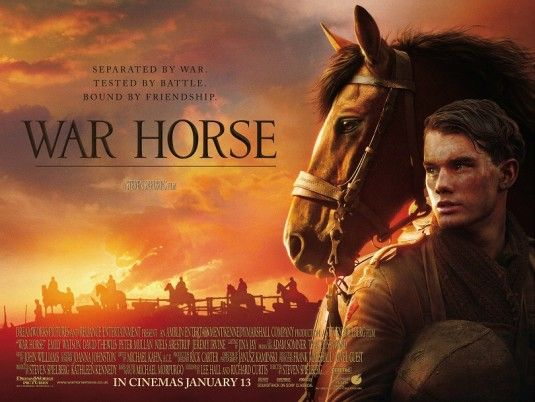 War on film: War Horse v Pan's Labyrinth | Horse movies, War horse ...