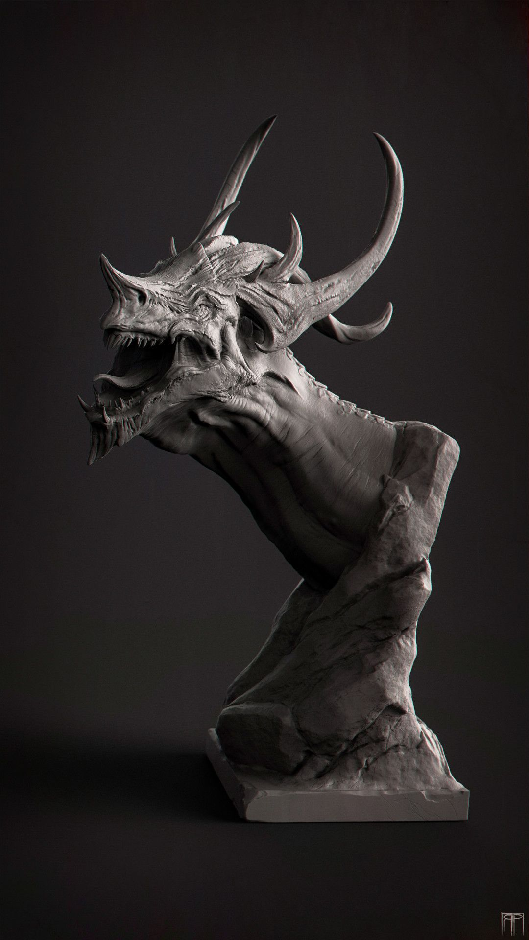Dragon-Head by Romain Pommier