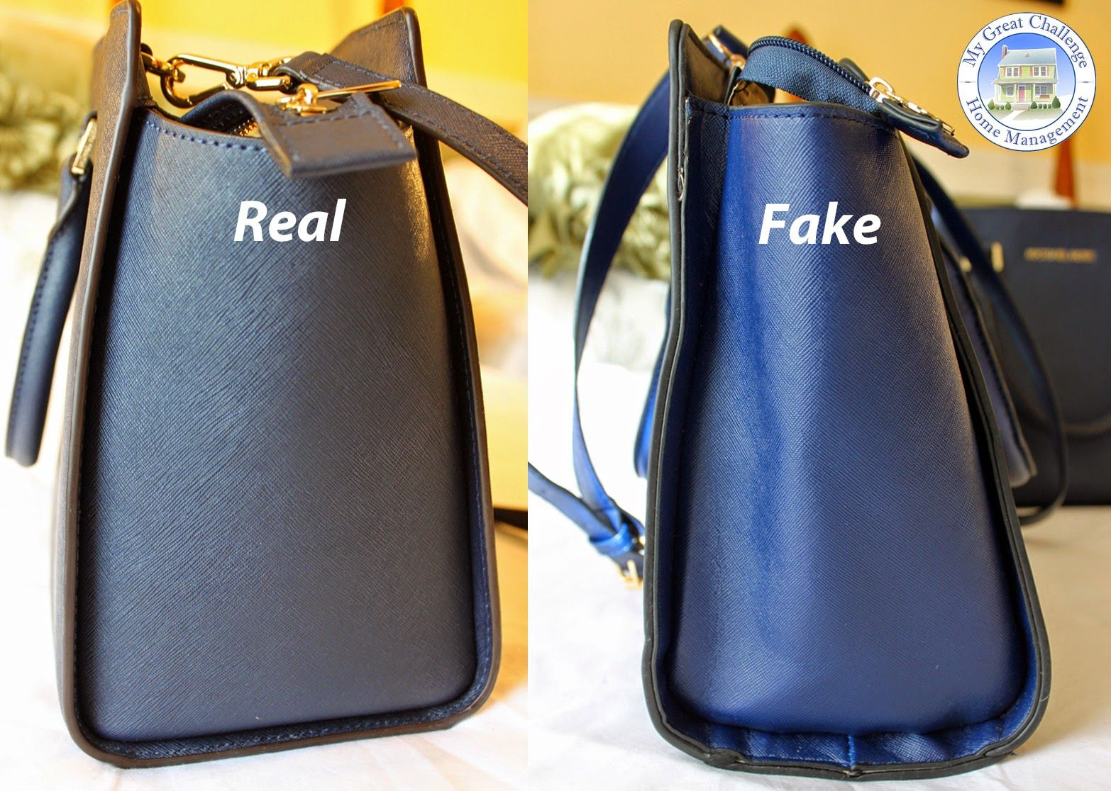 095be42c401 Michael Kors Selma - Fake VS. Real Comparison | all about bags ...