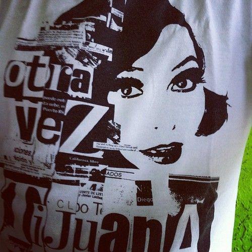 La t-shirt para hoy: Otra vez Tijuana,  (Tomada con Instagram)
