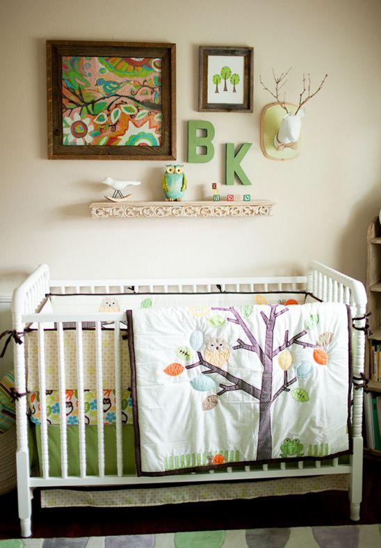 Love this Charming Rustic Nursery