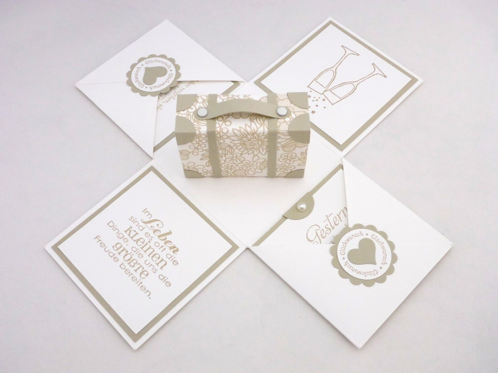 Die Goldene Hochzeit Meiner Eltern Habe Ich Dann Auch Gleich Zum Anlass Genommen Meine Erste Exp Goldene Hochzeit Geschenke Zur Goldenen Hochzeit Explosionsbox