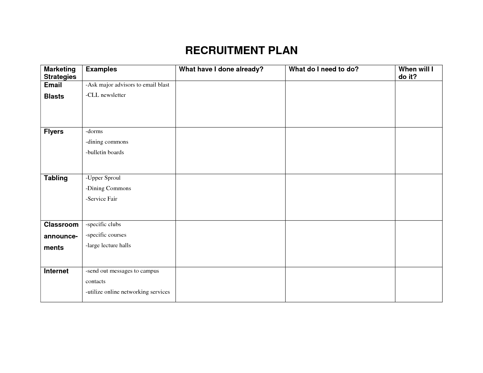 recruitment forms and templates | Recruiter Forms | Pinterest ...