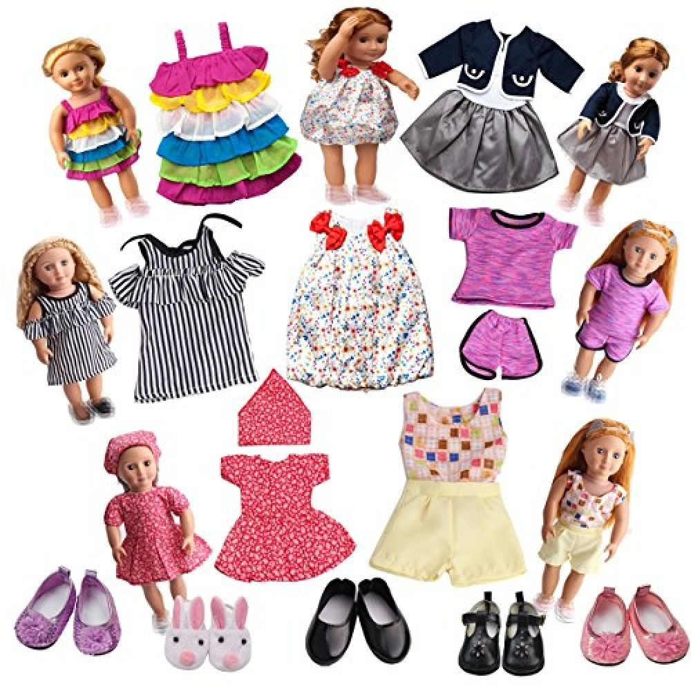 18 inch Doll Outfit Accessories Shoes for AG American Doll Doll