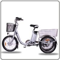 Quality Ce Approved 36v 250w White Electric Tricycles Lithium Battery 3 Wheel Electric Tricycle Electric Cycle 3 Wheel Electric Bike