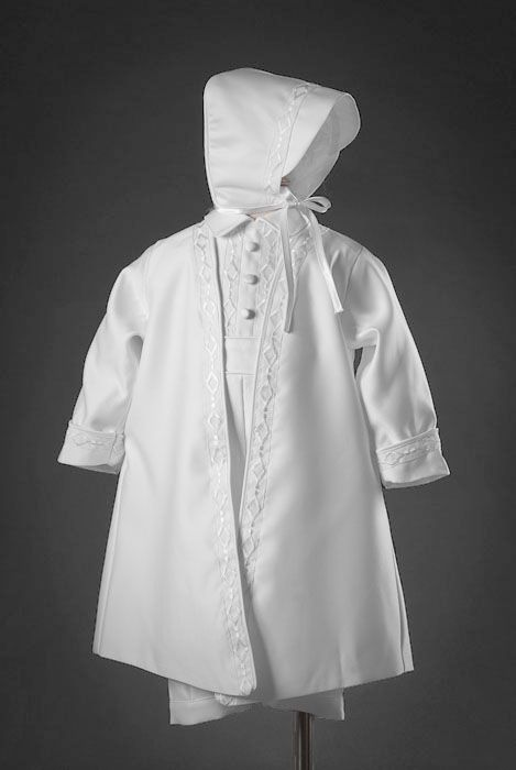 d0b6211dca9 Boys Poly Satin Christening Outfit 504 by Pretty Me