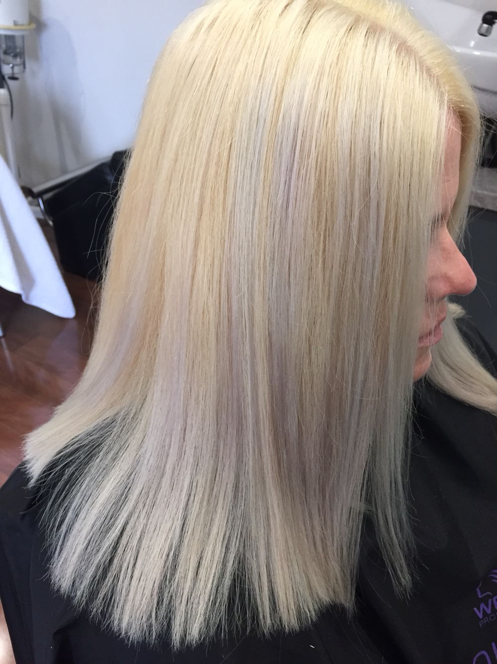 Blonde With Really Light Foils Balayage Color Long Hair Styles