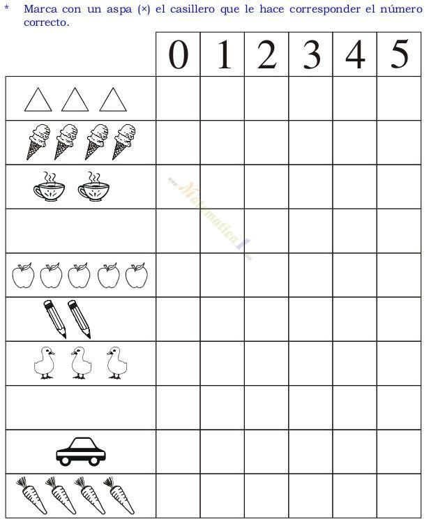 Libro de matematicas para ni os de 3 4 y 5 a os kinder for Actividades para jardin