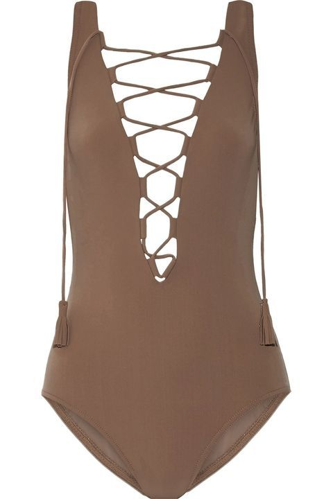 4f72fcbb01 11 One-Piece Swimsuits That Will Rival Your Bikini in Sexiness. TheLIST:  flesh-colored swimwear has made a comeback as the sexiest look of summer  seventeen: ...