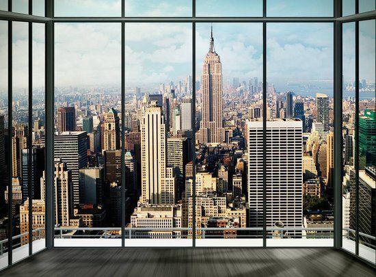 Slaapkamer New York : Behang slaapkamer google search interieuridee