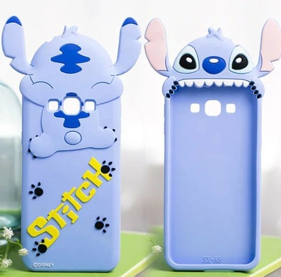 ff37cf95ad5 Silicon 3d Cute Stitch Back Cases for Samsung Galaxy J7 2016 J5 2016 A8  Phone Cases A7/E7/J7