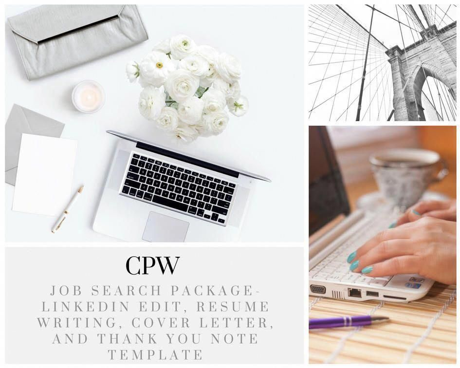 New year, New job #etsy shop Resume CV LinkedIn Edit Thank