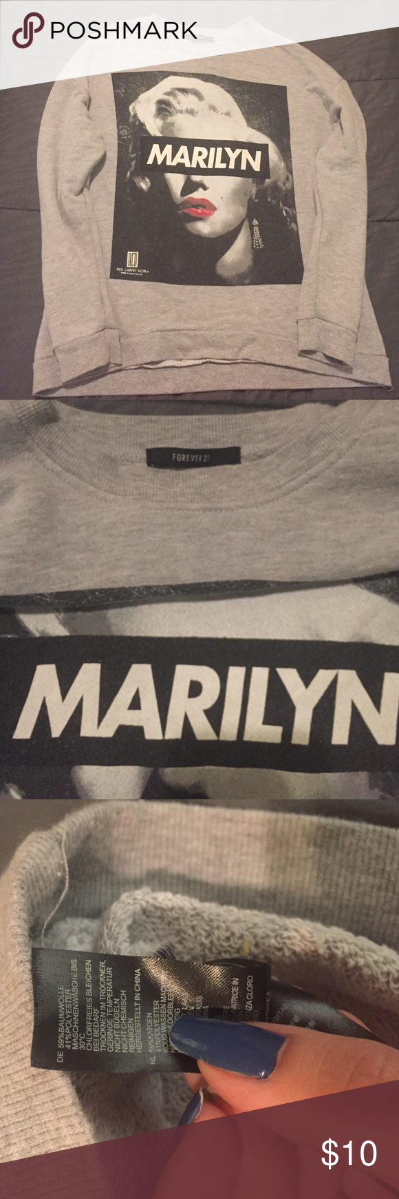 Forever 21 Marilyn Sweater. Forever 21 Marilyn Sweater. Size L. Perfect condition. Forever 21 Sweaters