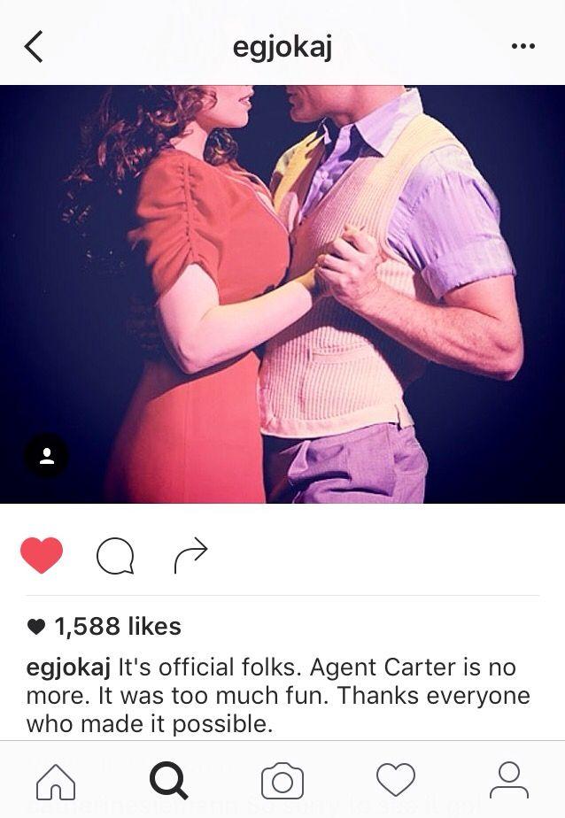 ( #AgentCarter