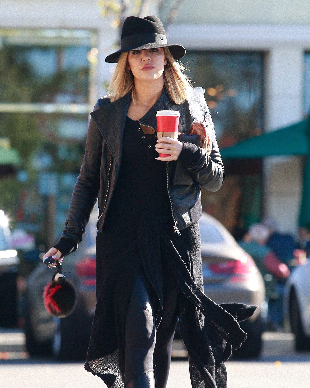Khloé Kardashian Stops By Starbucks in Los Angeles