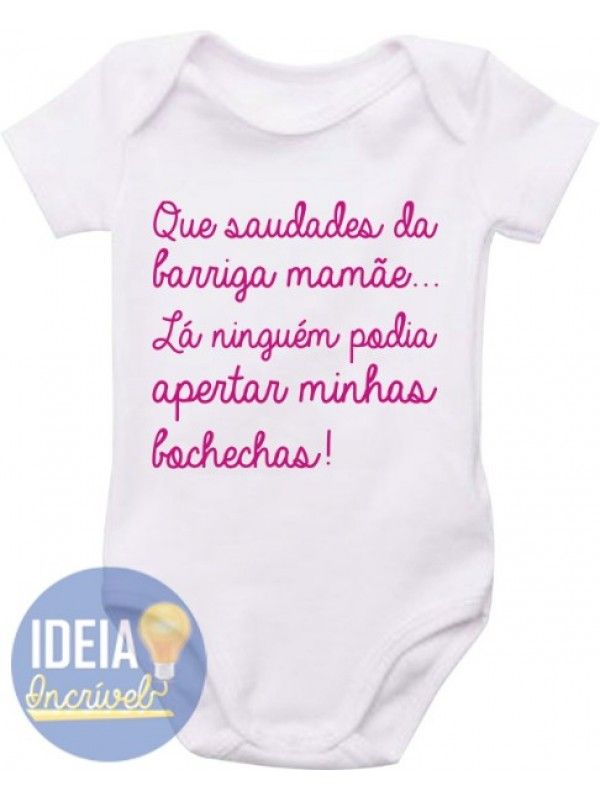 Body Infantil - Saudades